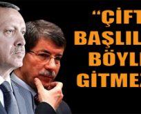 Erdoğan Davutoğlu'na verdi veriştirdi!