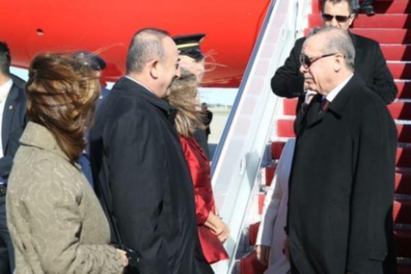 ABD'den bir mesaj daha… Erdoğan'ı Washington'da Çavuşoğlu karşıladı