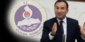 AYM, Erdoğan'dan sonra Adalet Bakanı Bozdağ'a da cevap verdi