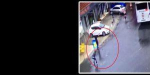 İstanbul Bayrampaşa'da polise saldırı.