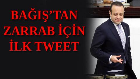 Egemen Bağış'tan 'Reza' tweeti