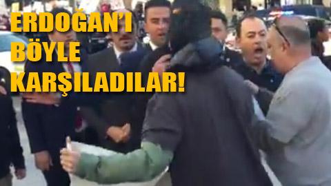Erdoğan'ın korumaları terör estirdi!