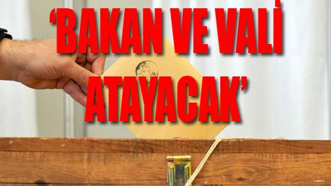 AKP'den sandığa darbe hazırlığı