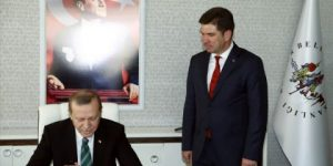 Erdoğan CHP'li başkanı ziyaret etti