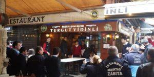 Beşiktaş'taki olaylı balıkçı mühürlendi!