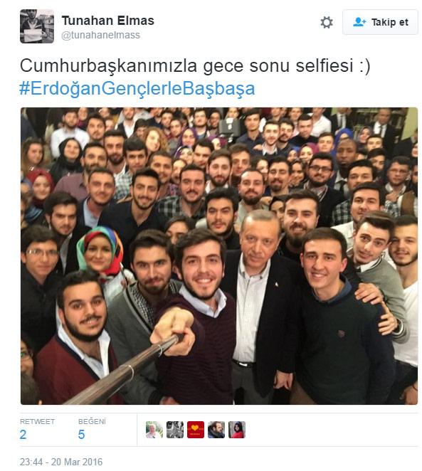 erdoğan Erdoğan'a soru soran o gençler bakın kim çıktı ak2