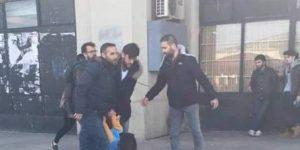Polisler kadınlara saldırırken Davutoğlu'ndan şaka…