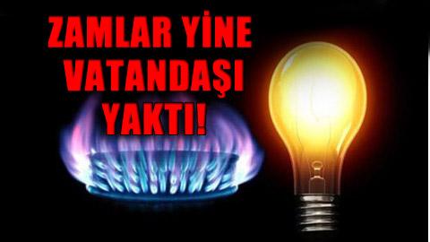 Elektrik ve doğalgazda büyük darbe!