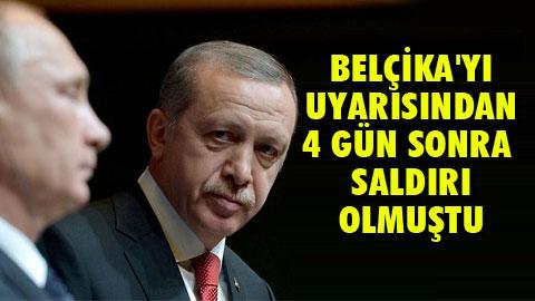 Erdoğan'dan Rusya'ya eylem uyarısı