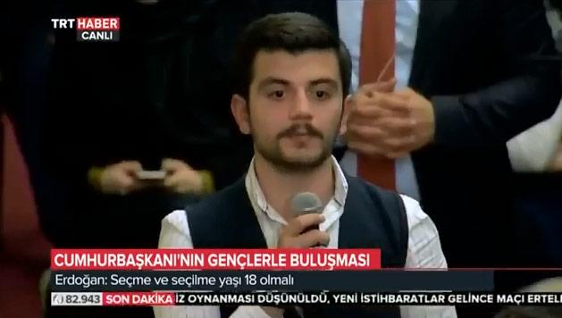 erdoğan Erdoğan'a soru soran o gençler bakın kim çıktı emre un