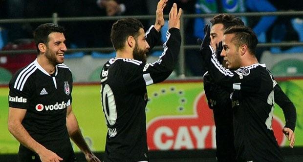 Beşiktaş liderliği kaptı.