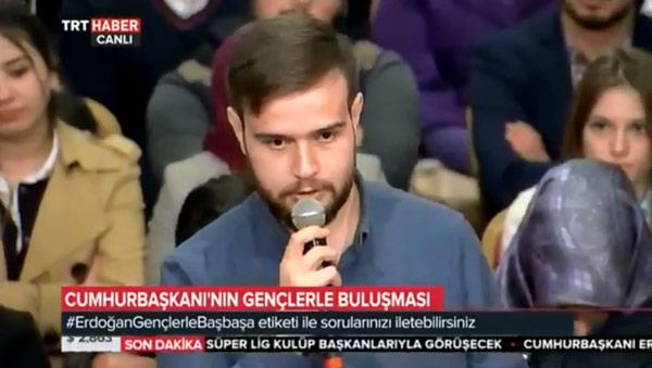 erdoğan Erdoğan'a soru soran o gençler bakın kim çıktı ker m aksoy