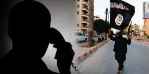 Polis telefonundan IŞİD'ciyle görüşme