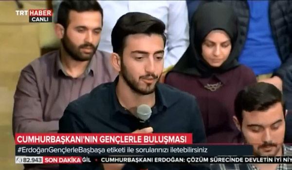 erdoğan Erdoğan'a soru soran o gençler bakın kim çıktı m50t364k
