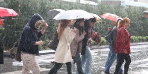 Meteoroloji'den 'yağış' uyarısı
