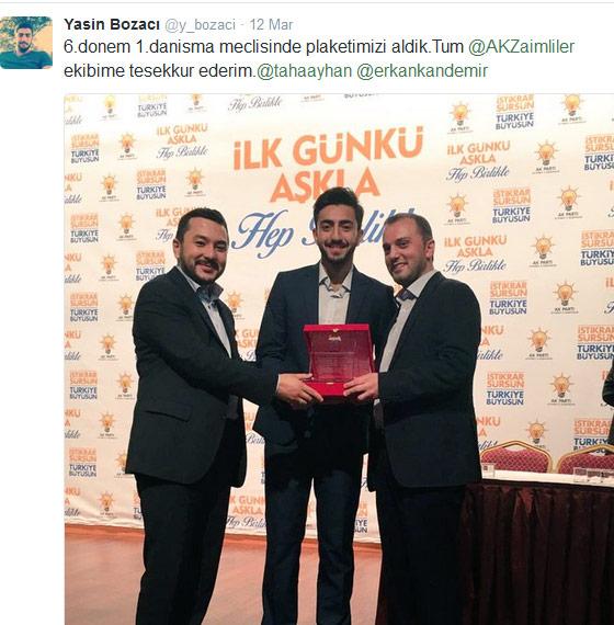 erdoğan Erdoğan'a soru soran o gençler bakın kim çıktı yasin bozac C4 B12
