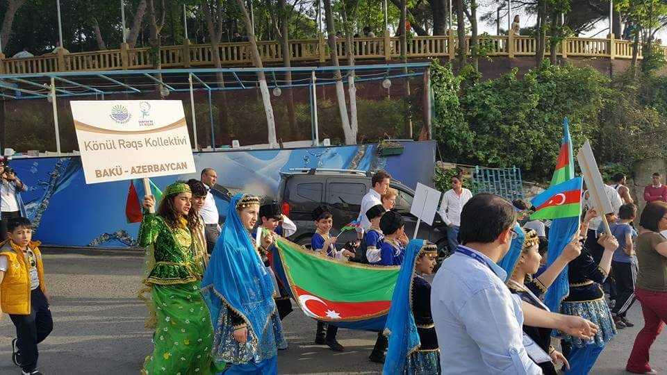 Sarıyer uluslararası 23 Nisan şenliği başladı