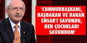 Kılıçdaroğlu: Kan beynime sıçradı