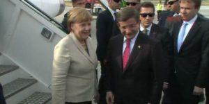 Angela Merkel Gaziantep'te