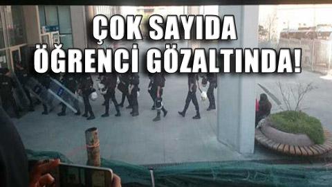 Mimar Sinan öğrencilerine sabah baskını!