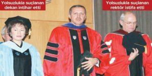 Erdoğan'ın doktorası da şaibeli