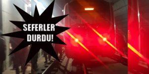 Marmaray raydan çıktı!