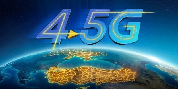 Türkiye 4.5G dönemine geçti