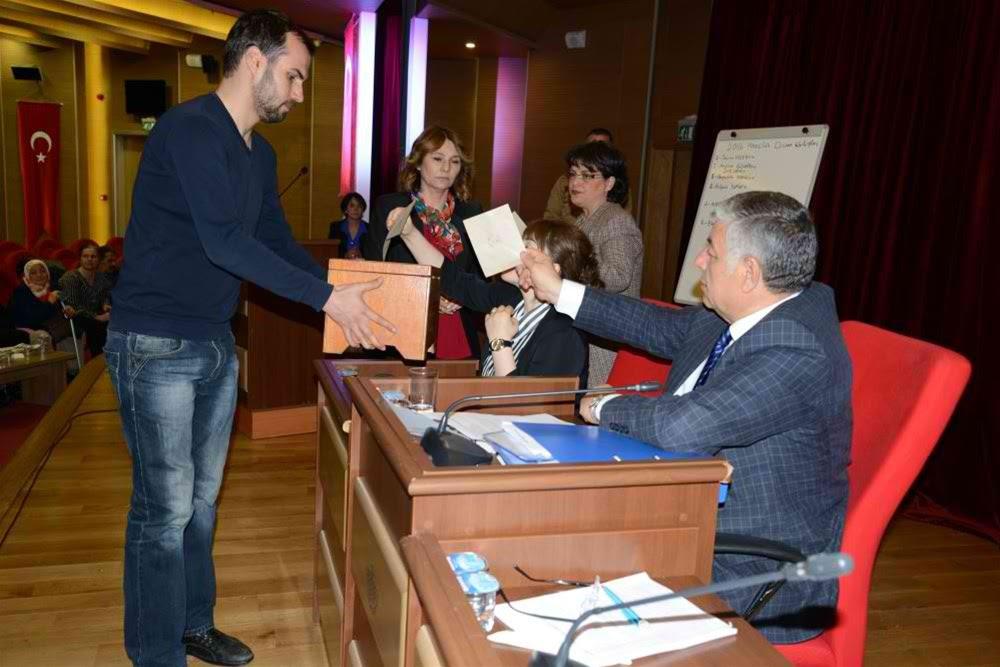 Belediyede Encümen ve Komisyonlar belirlendi.
