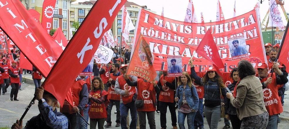 İstanbul'da coşkulu 1 Mayıs