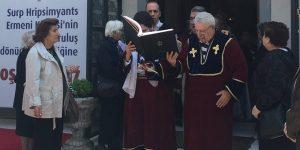 Ermeni Kilisesi'nin kuruluş yıldönümü kutlandı.