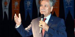 Arınç'tan AKP'ye çok sert sözler