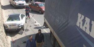 İstanbul'da TIR dehşeti