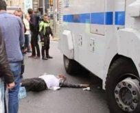 Taksim'de TOMA cinayeti
