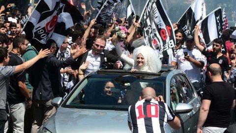 Beşiktaşlılardan erken kutlama