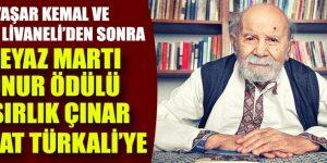 Beyaz Martı Ödülü Vedat Türkali'ye