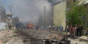 Adliye lojmanına bombalı araçla saldırı