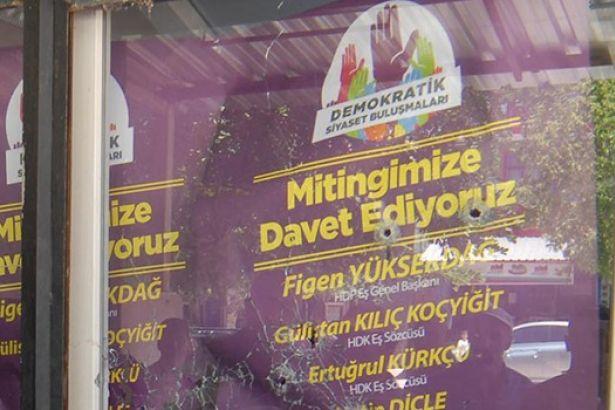 HDP binasına ateş eden kişi polis çıktı