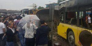 İstanbul'da büyük kaza