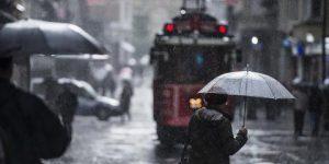 İstanbul için yağış uyarısı.