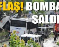 İstanbul'da polise bombalı saldırı!