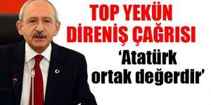 Kılıçdaroğlu: Atatürk ortak değerdir