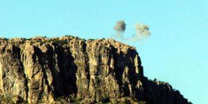 PKK, havan ve uçak savarla saldırdı