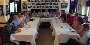 Demokrasi güçlerinden 'sivil darbe' uyarısı