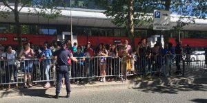 Euro 2016 final maçına saatler kala bomba paniği