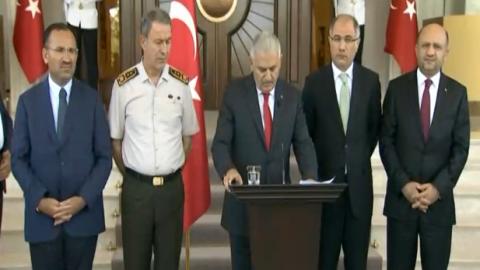 Başbakan: 161 şehit, 2839 gözaltı