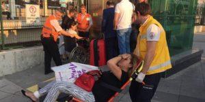 Marmaray'da canlı bomba paniği
