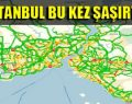 İstanbul'da trafik rekor kırdı!