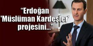 Esad, Erdoğan'ın projesini açıkladı!