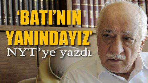 Gülen: Beni Türkiye'ye vermeyin!
