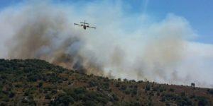Bodrum'daki yangın saatlerdir söndürülemiyor